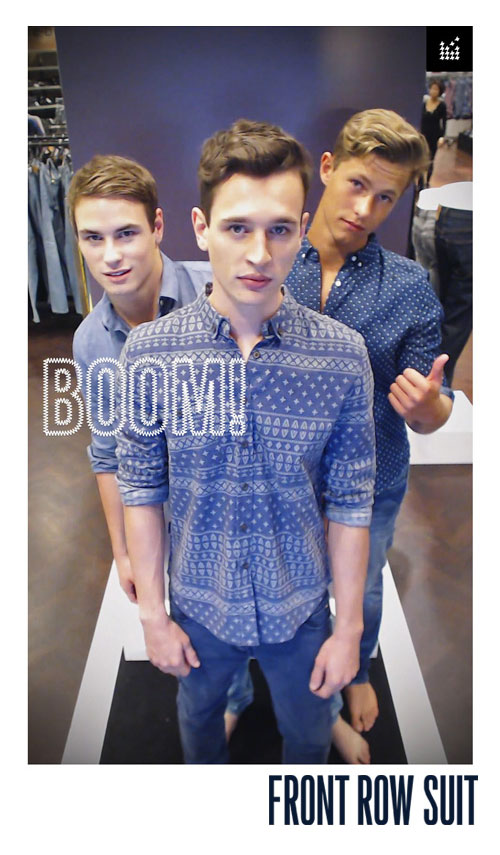 David Jones instore photo booth final output.