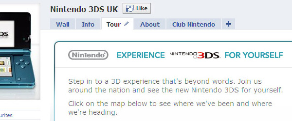 Nintendo - 3DS Facebook Page image